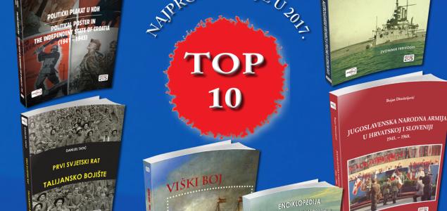 TOP 10 – NAJPRODAVANIJE U 2017.