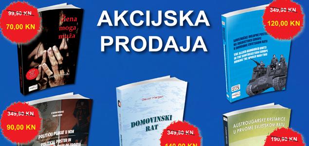 AKCIJSKA PRODAJA DESET NAJPRODAVANIJIH KNJIGA U 2017. GODINI